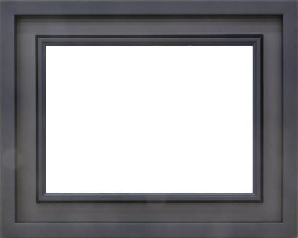 油絵用額縁 3441N WF4 ブラック 黒 -新品