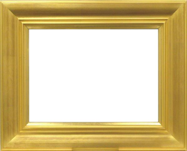油彩額 油絵用額縁 7714 F12 金 ゴールド -新品