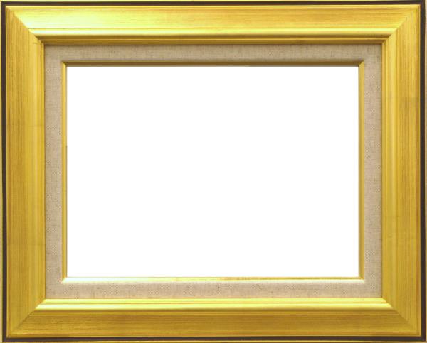 油彩額 油絵用額縁 7716 P8 金 ゴールド -新品