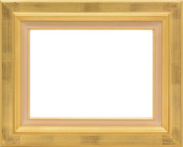 油彩額 油絵用額縁 7723 F12 金 ゴールド -新品