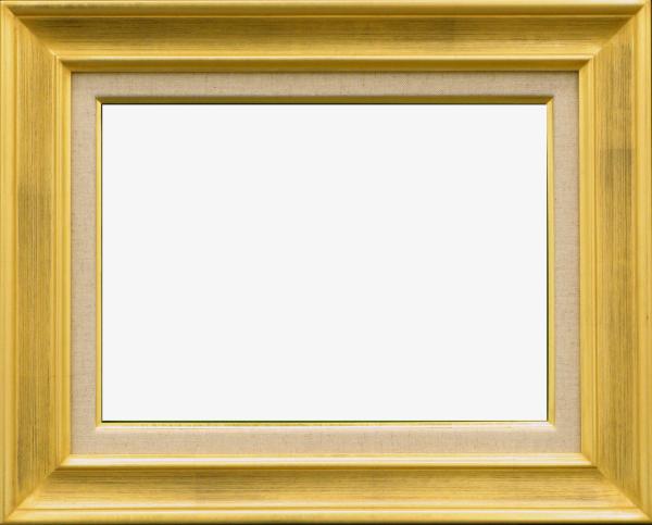 油彩額 油絵用額縁 7724 F30 (P30,M30) ゴールド (アートフレーム)-新品