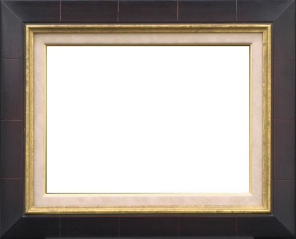 油彩額 油絵用額縁 7727 F15 セピア -新品