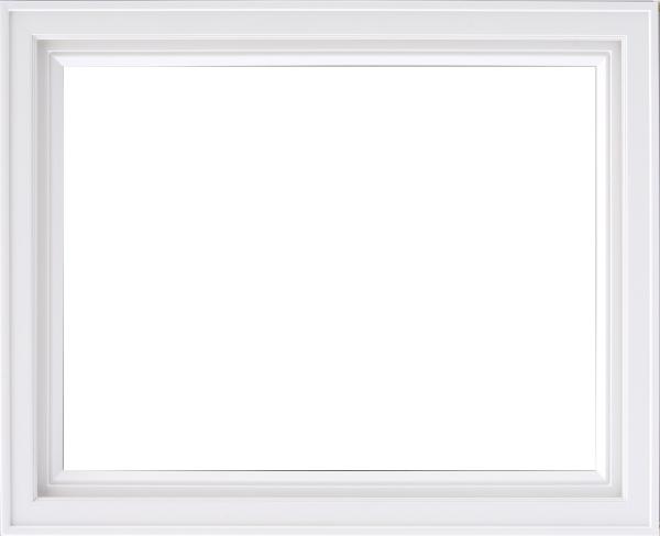 油彩額 油絵用額縁 7753 F4 ホワイト 白 -新品