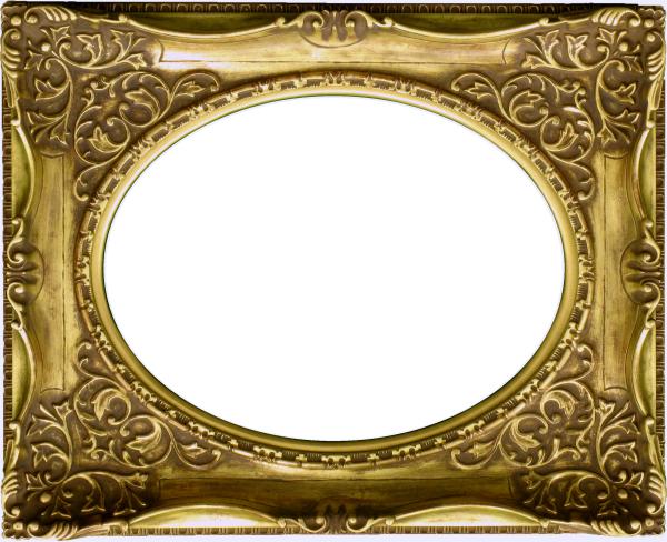 油彩額 油絵用額縁 7826 F10 アンティークゴールド 金 (アートフレーム)-新品