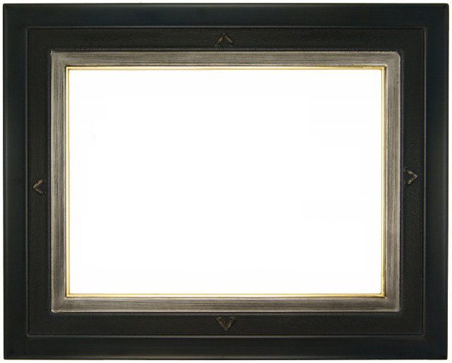 油彩額 油絵用額縁 アテネ F20 (P20,M20) 青黒 -新品