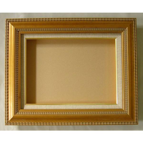 油彩額 油絵用額縁 ベレン F12 P12 M12 金 ゴールド -新品