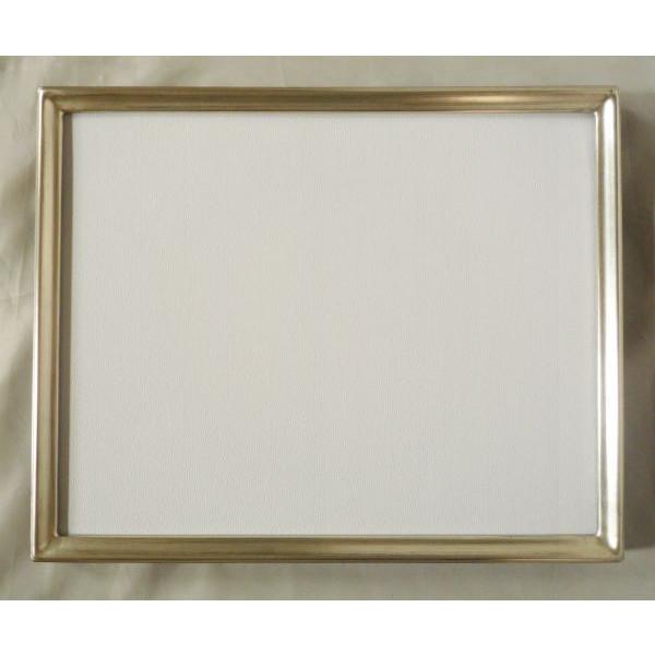 デッサン用 額縁 芭蕉 大全紙(727X545mm) 銀 シルバー -新品