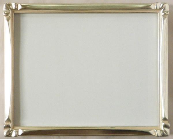デッサン用 額縁 珠クレタ 大全紙(727X545mm) 銀 シルバー -新品