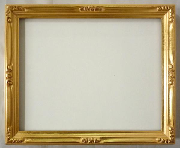 水彩額縁 早蕨 F6 金 ゴールド -新品