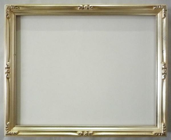 デッサン用 額縁 早蕨 大全紙(727X545mm) 銀 シルバー -新品