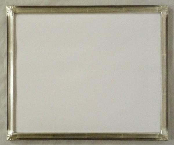 デッサン用 額縁 こはく 大全紙(727X545mm) 銀 シルバー -新品