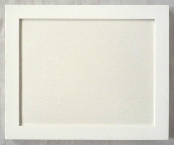 デッサン用 額縁 L-30 大判(850X660mm) 白 -新品