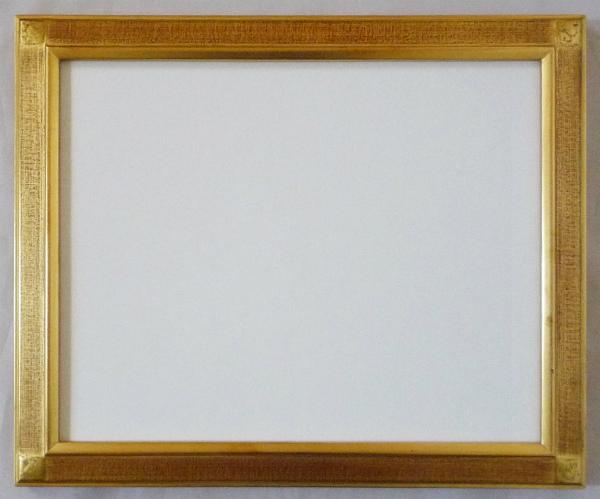 デッサン用 額縁 平傾斜水彩 大判(850X660mm) 金 ゴールド -新品