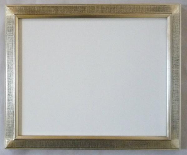 デッサン用 額縁 平傾斜水彩27 大全紙(727X545mm) 銀 シルバー -新品