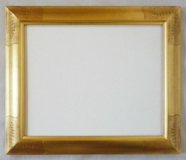水彩額縁 フローラ F10 金 ゴールド -新品
