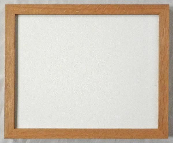 デッサン用 額縁 楢角 大判(850X660mm) 木地 -新品