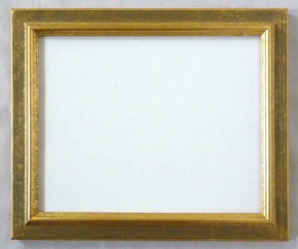 デッサン用 額縁 レインボー水彩 大判(850X660mm) 金 ゴールド -新品