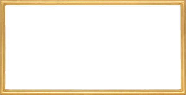 横長の額縁 7517 600×300mm ゴールド・シルバー -新品