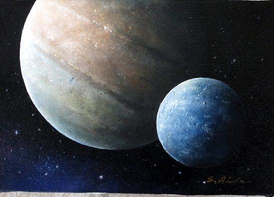 油絵 肉筆絵画 F4サイズ 「Eternity(永遠)」 相田 省吾 木枠付 -新品
