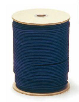 美術金具 額縁材料 紐・ワイヤー 強化丸ひも(ナイロン) 16打 6607 200m巻 紫 -新品