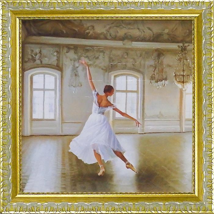 額縁付 絵画 アートフレーム ピエール ベンソン 「ル グラン サロン1」 PB-13011-新品