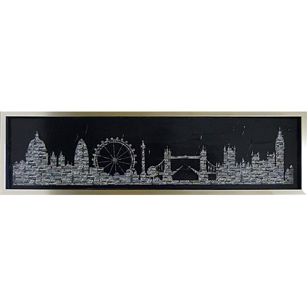 額縁付 絵画 アートフレーム マックス カーター 「シティ スリッカー1」 MC-15011-新品