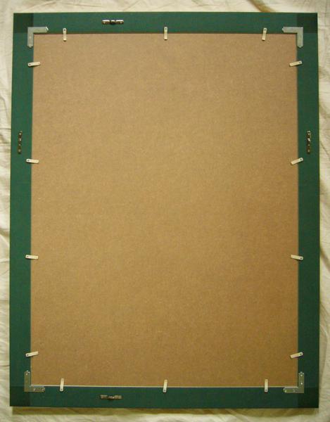 아트 포스터 클림트 작품 「 더 · 키스 」 액자 작품 60X80cm-신품
