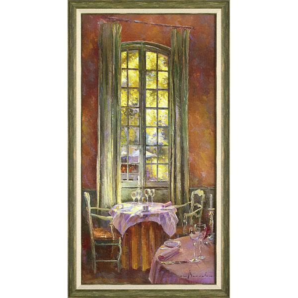 額縁付 絵画 アートフレーム ヨハン メッセリー 「ランデブー シークレット」 JM-23012-新品