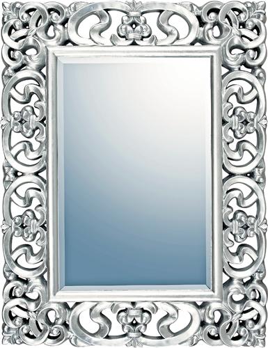 インテリア 鏡 壁掛け グレース アート ミラー「プレミア(アンティークシルバー)」 GM-22013 -新品