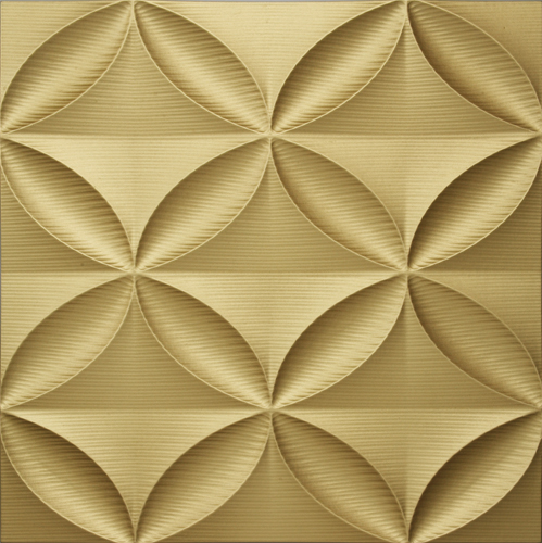 インテリア プラデック ウォール アート 「エコー(ゴールド)」 PL-18004-新品