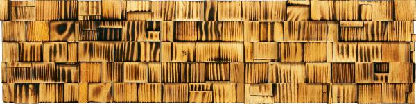 インテリア プラデック ウッド クラフト 「ロング(バーンドパイン)」 PL-13521-新品