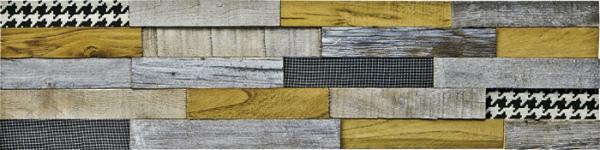 インテリア プラデック ウッド クラフト 「ロング(ウッド&ファブリック1)」 PL-13532-新品