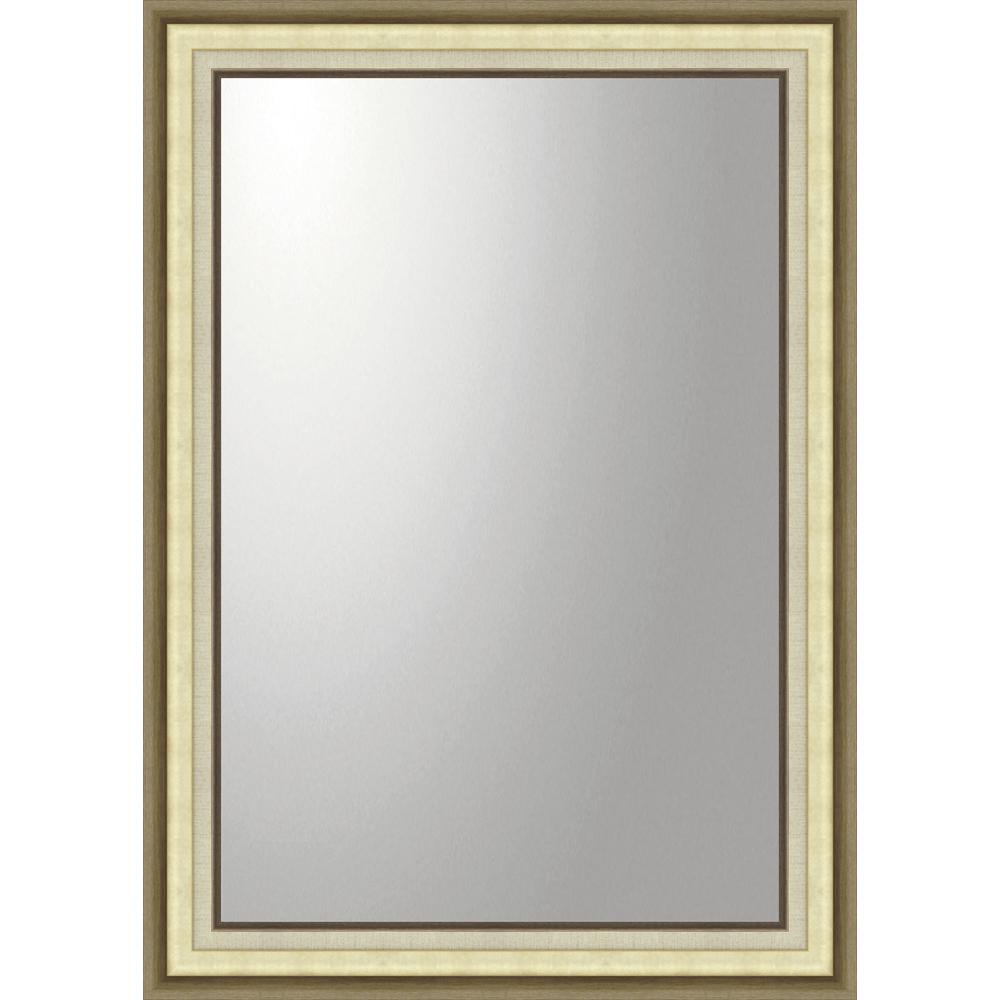 インテリア 鏡 壁掛け デコラティブ 大型ミラー モダン「長方形(ゴールド)」 BM-23025 -新品
