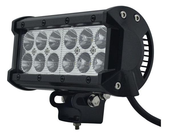 【 6個セット】CREE製36WLED作業灯 2500-3600LM 使用温度:-40~85度【防水・防塵・省電力・長寿命】 LEDワークライト LED作業灯12v/24v兼用 12連 集魚灯・看板灯・投光器・サーチライト