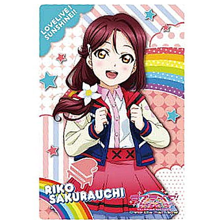 Love live sunshine Movie Over the Rainbow Promotional paper 10 set from japan