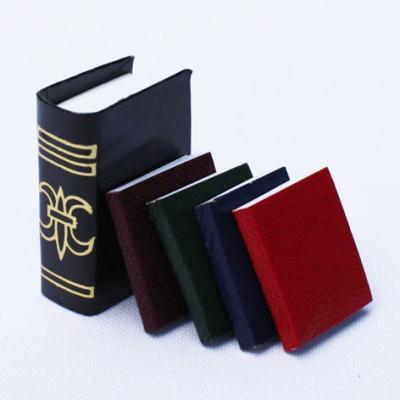ミニチュア ドールハウスに ミニチュア雑貨 本4冊 B m-s 贈答 定価 D-24 C ネコポス配送対応