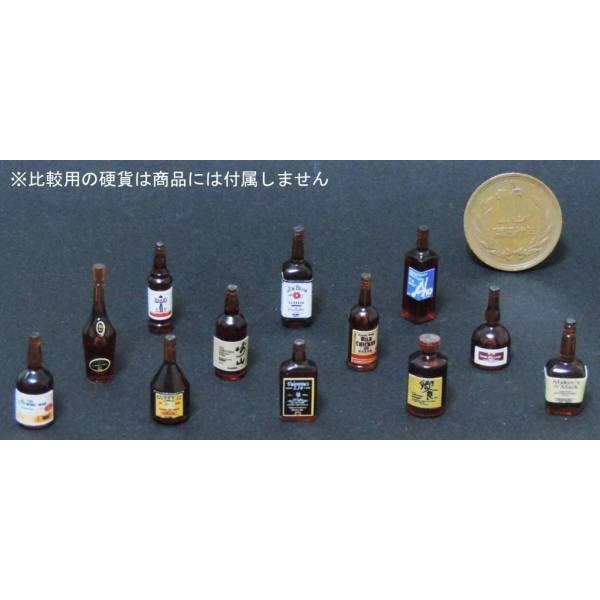 PINKTANK ミニチュアドールハウス ミニチュア雑貨 メーカー直売 1 12スケール ボトルD ブラウン ネコポス配送対応 pinktank ピンクタンク 12種セット m-s C 日本産