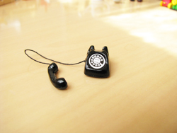 Waiting to restock ☆ ☆ miniature gadgets black phone