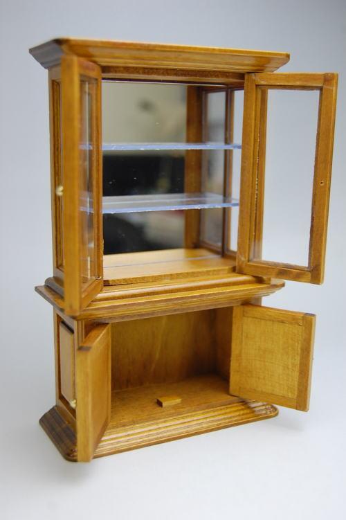 Brown miniature home furniture showcase. auc toysanta   Rakuten Global Market  Brown miniature home