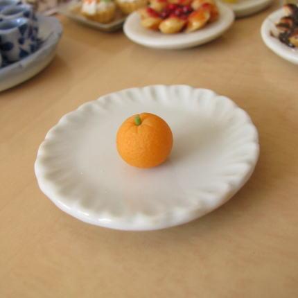 お値打ち価格で ミニチュア ドールハウスに ミニチュアフード オレンジ SMFRT-03 期間限定で特別価格 m-s C ネコポス配送対応