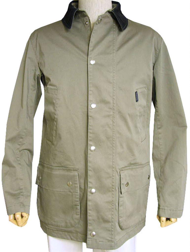 秋冬物 stanley blackerのハンティングジャケット グレー系 0078 M L