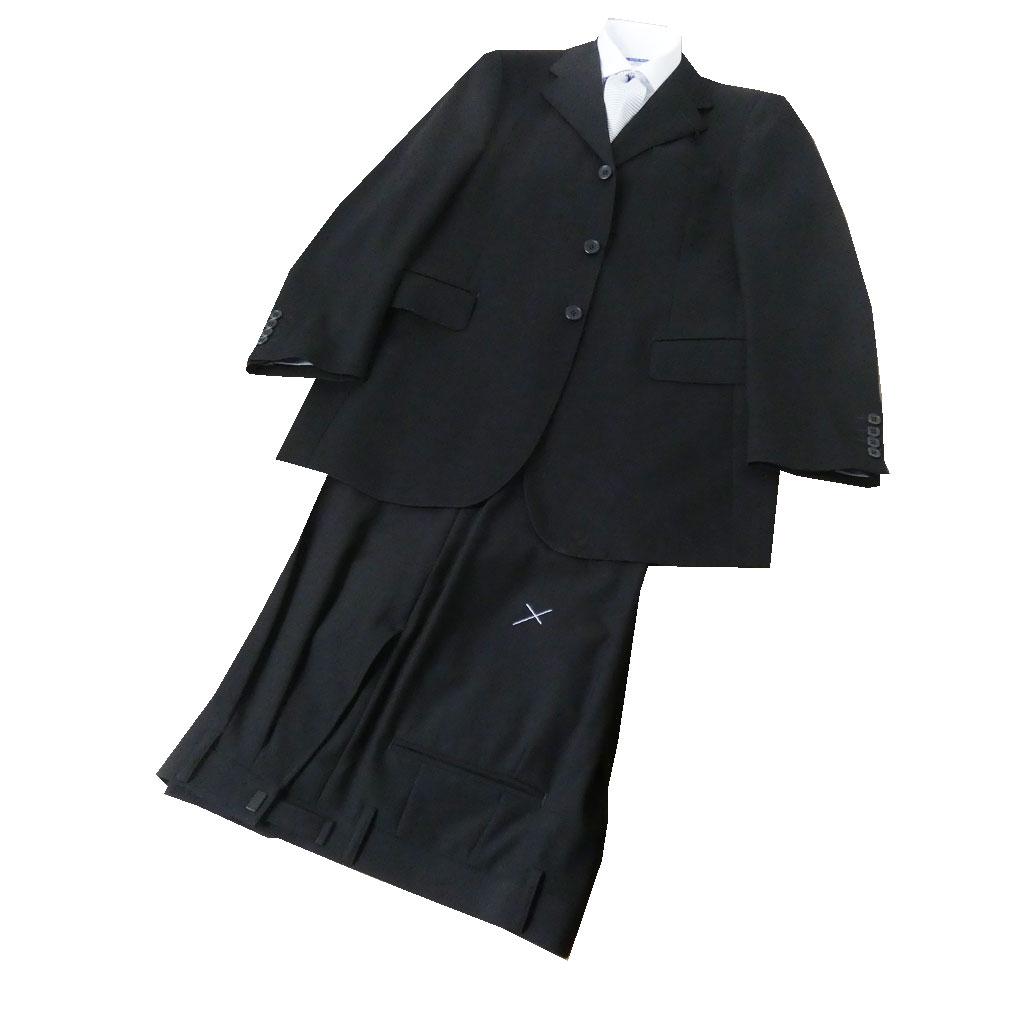 YUMI KATSURAのシングル3B フォーマルスーツ Y8 (T185-W82) 黒