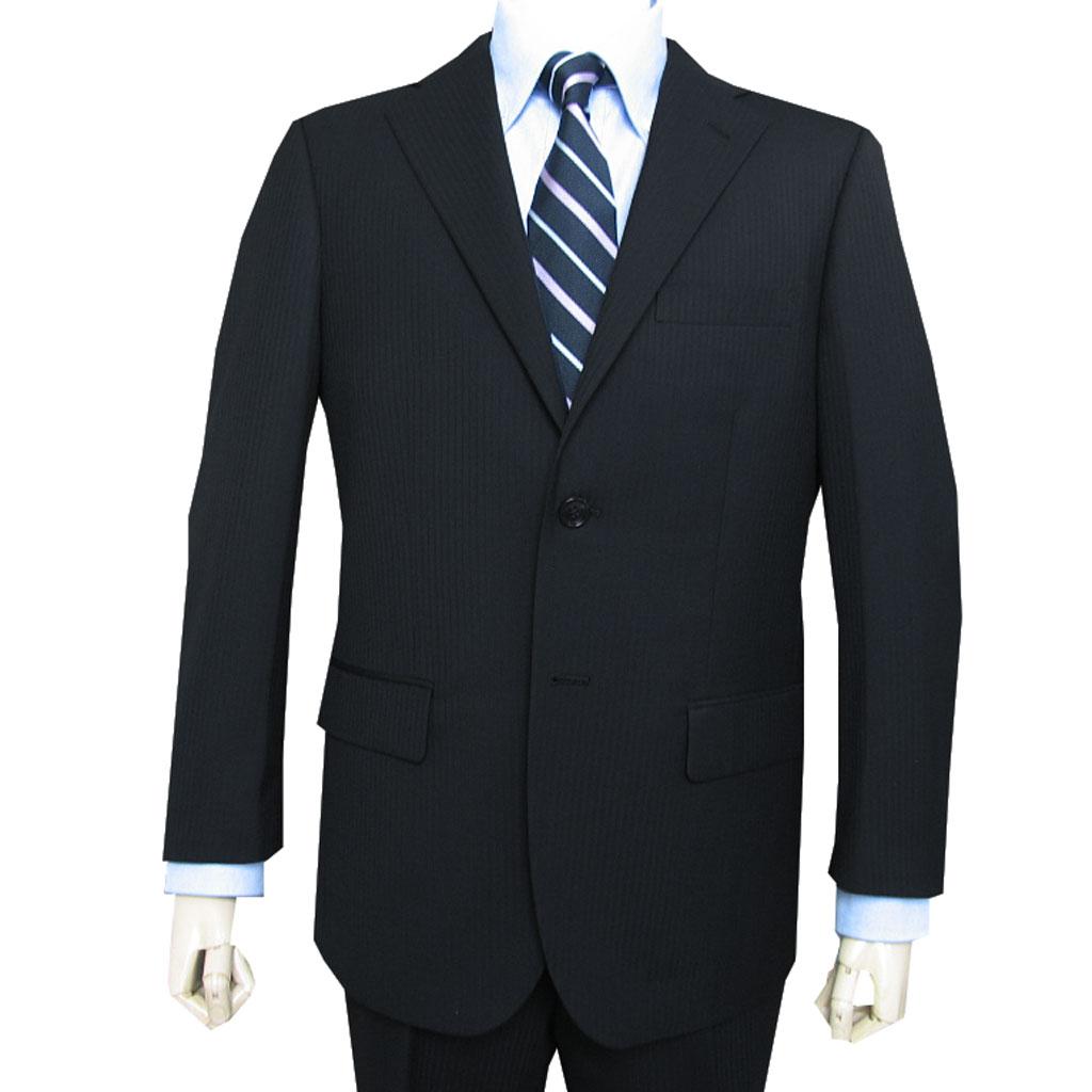 秋冬春 スーツ ブラック シャドーストライプ 2つボタン メンズ Dady Costa 0603 AB3 AB5 AB8 BB3 BB4 BB5 BB6 E5 E6 E7 E8
