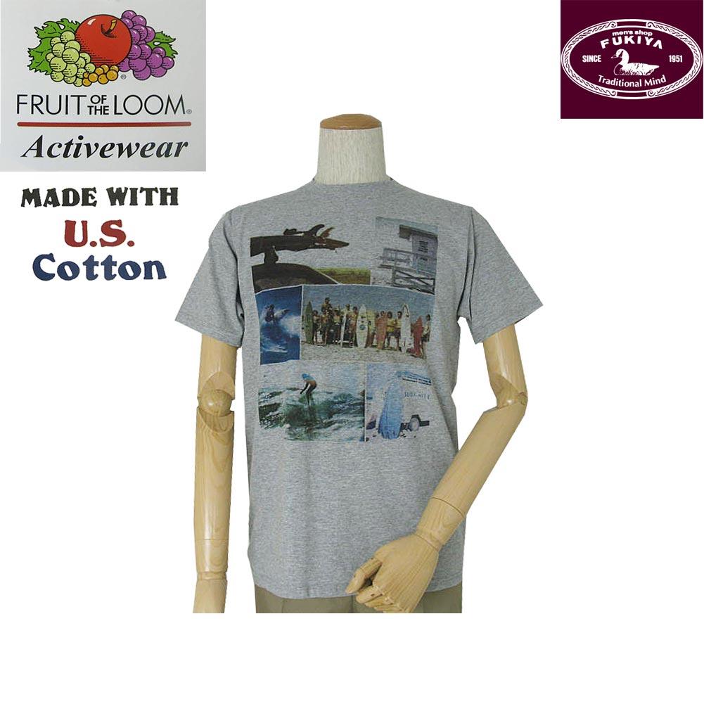 在庫各1枚 送料無料 FRUIT OFTHE 未使用 LOOM Tシャツ 春夏 メンズ 9040 グレー M メーカー直送 半袖