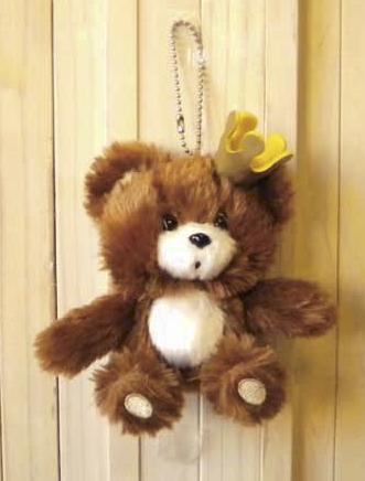 [763] Sunrise Bears cocoa Bear's Cocoa ball chain cocoa one piece of article character toy toy [special price sale product 30%OFF]