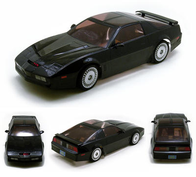 Qingdao cultural materials, and aoshima Skynet 1 / 10 Knight Rider K.I.T.T movie body set unpainted body parts