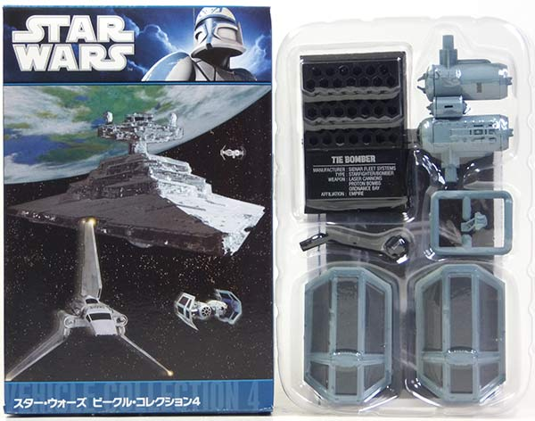 F-toys 1 / 144 Star Wars vehicle Collection Vol.4 Thailand bomber (2) miniature completed