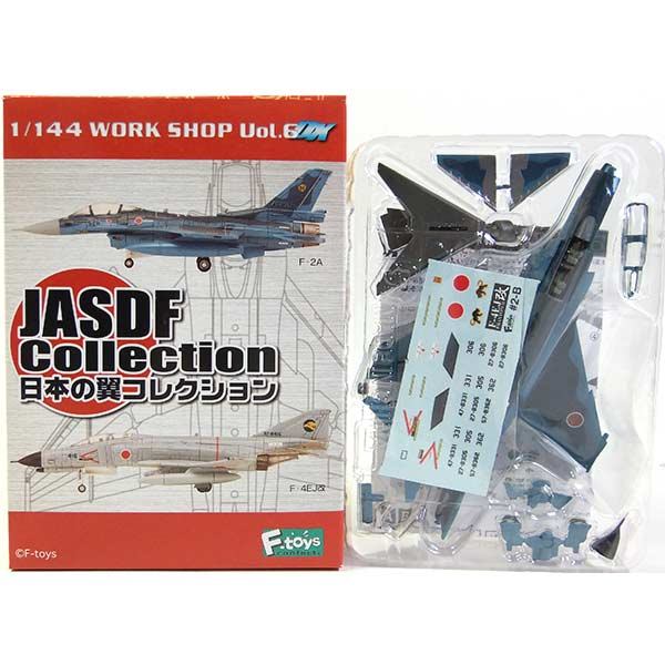 Japan f-toys 1/144 Wing Collection Vol.1 F-4EJ breaks no. 3 Wing No. 8 Squadron Aomori prefectural Misawa base self-defense fighter military miniature half-completed separately
