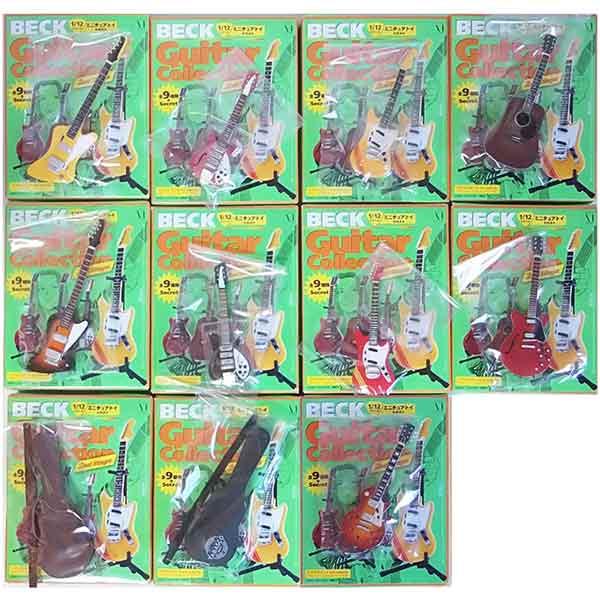 【11SET】 メディアファクトリー 1/12 BECK ベックギターコレクション 2ndステージ シークレットを含む全11種セット アニメ 漫画 映画 フィギュア 楽器 ミニチュア 半完成品