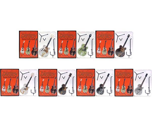 【7SET】 メディアファクトリー 1/8 GRETSCH グレッチギターコレクションII 全7種セット(シークレットを含まない) アニメ 漫画 映画 フィギュア 楽器 ミニチュア 半完成品